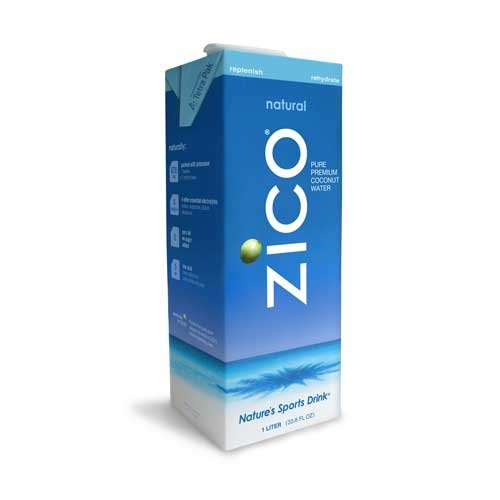 Zico Coconut Water Natural 33.8 Oz (Pack of 12)
