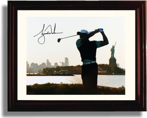 3cc4e9ca4aa ... Upper Deck AUTHENTIC Signed Autographed USED GOLF GLOVE Framed Tiger  Woods memorabilia. memorabilia. Framed Tiger Woods Autograph Replica Print  - Statue ...