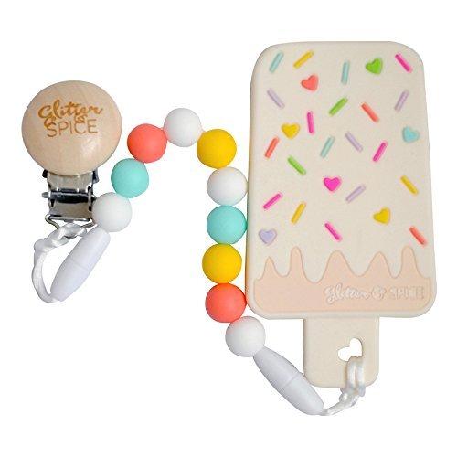 Glitter & Spice Ice Cream Bar Teether