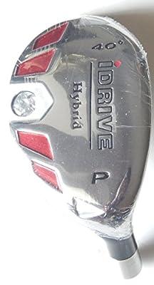 New Integra I-Drive Hybrid Golf Club #PW-40° Right-Handed With Graphite Shaft, U Pick Flex (Graphite, Stiff)