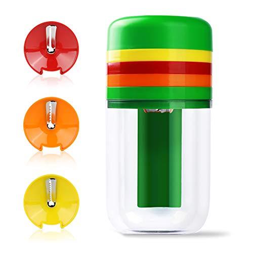Spiralizer Vegetable Slicer, Handheld Vegetable Spiralizer - Veggie Spiral Slicer Cutter for Noodle Maker Pasta Zucchini Spiral Maker