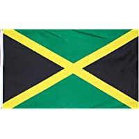 Jamaica National Country Flag: 3x5foot poly