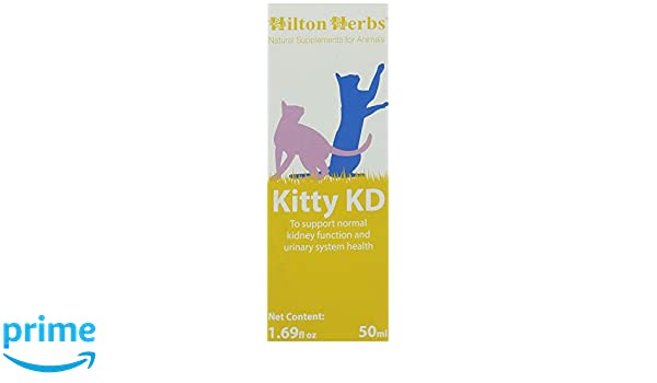 Amazon.com : Hilton Herbs Kitty KD Herbal Supplement for Optimum Renal Function in Cats, 1.69 fl oz (50 ml)  Bottle : Pet Herbal Supplements : Pet Supplies
