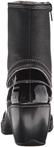 JBU by Jambu Womens Caramel Rain Boot Black weNeJG