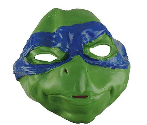 [Children's Teenage Mutant Ninja Turtles Leonardo 3/4 Latex Mask] (Ninja Turtles Splinter Costumes)