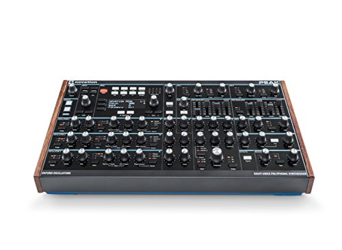 Novation Peak Eight-Voice Polyphonic Desktop Synthesizer by Novation