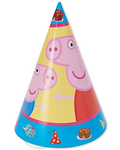 Paper Cone Hats   Peppa Pig Collection   Party Accessory