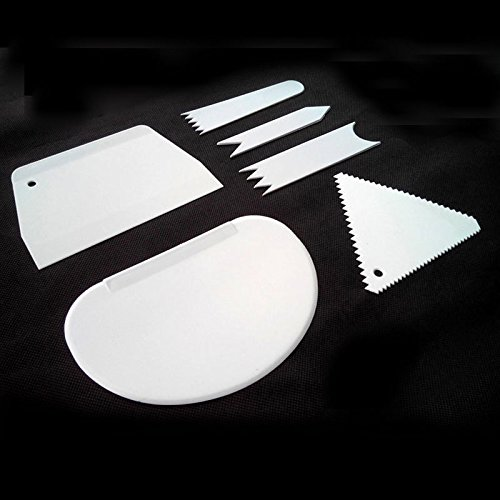Spatula Set Dough Cutter Multifunction Blade 6Pcs