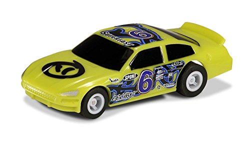 Scalextric Micro 1:64 Green #6 G2158 Scale US Stock Car