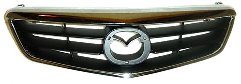 OE Replacement Mazda 626 Grille Assembly (Partslink Number - Replacement Mazda 626 Grille