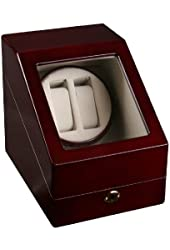 Top Quality Double Automatic Wood Watch Winder with 3 storages with reliable Japanese motor