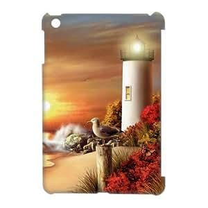 ALICASE Diy Lighthouse Phone Case For iPad Mini [Pattern-1] wangjiang maoyi