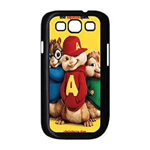 Alvin and the Chipmunks Samsung Galaxy S3 9300 Cell Phone Case Black TV0732017