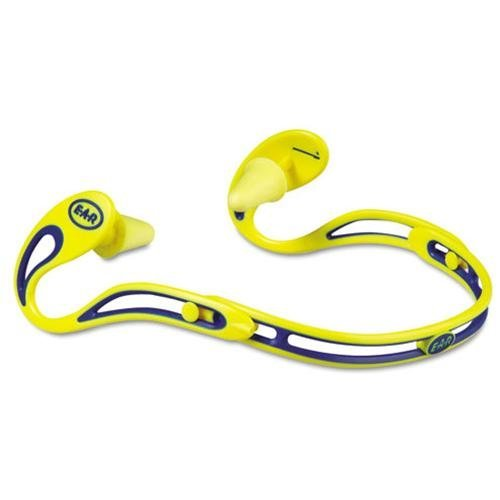 E-A-R MMM3222000 Swerve Banded Corded Hearing Protectors
