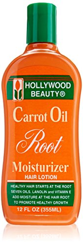 Hollywood Beauty Carrot Oil Root Moisturizer, 12 Ounce