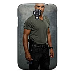 Perfect Hard Cell-phone Case For Samsung Galaxy S4 (Yes22785fuvG) Provide Private Custom Colorful Shemar Moore Celebrity Pictures