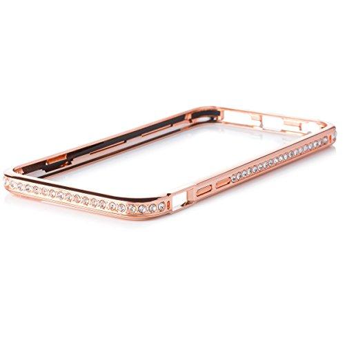 iCues AK21 Aluminium Luxus Bumper Case für Apple iPhone 6 rot