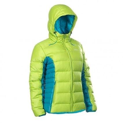 WED'ZE Damen Daunenjacke doondoon Warm Premium Fluo Gelb XS