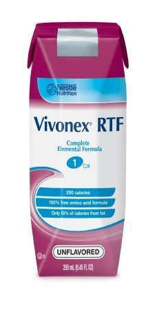 Nestle Vivonex RTF Elemental Diet 250ml (case of 24) by Vivonex RTF