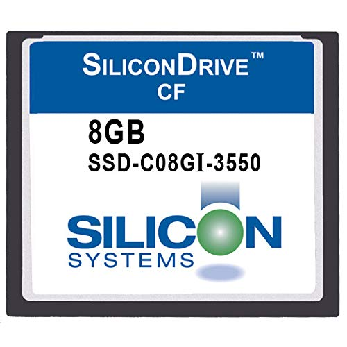 SILICON SILICON - SYSTEMS SSD-C08GI-3500 フラッシュメモリーカード シリコンドライブ 8GBタイプ I 産業用幅広 - I 40~+85C コンパクトカード/RoHS 6/6 B07GH796J9, 大磯町:6f6c29cb --- fancycertifieds.xyz
