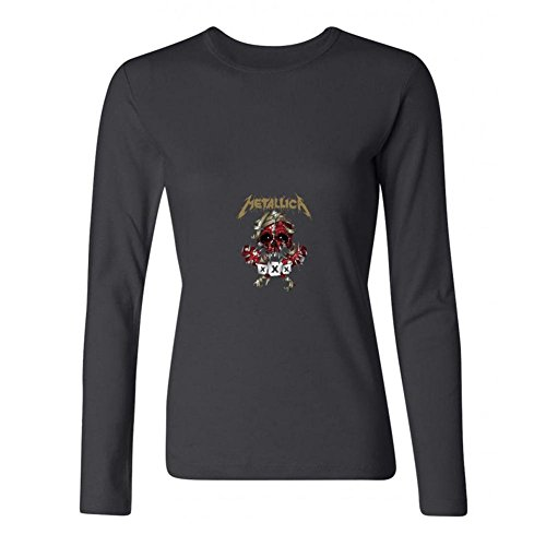 The Vault Club Halloween (MINIXmas Women's Thrash Metal Band 30th Anniversary Show Long Sleeve T-shirt Black)