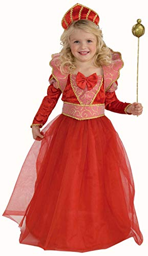 Forum Novelties Ruby Queen Costume, Toddler Size]()