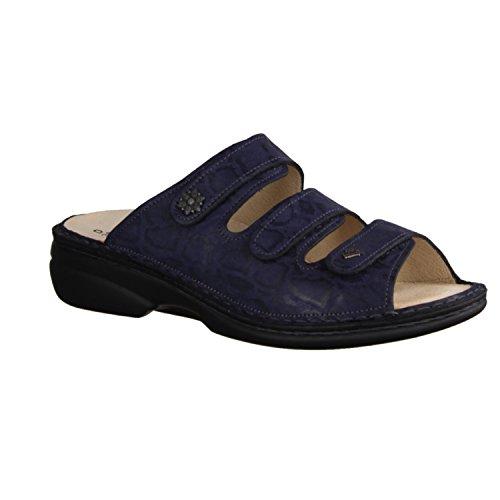 Comfort 82564554041 Blu Blau Zoccoli Donna Finn v8qwzv