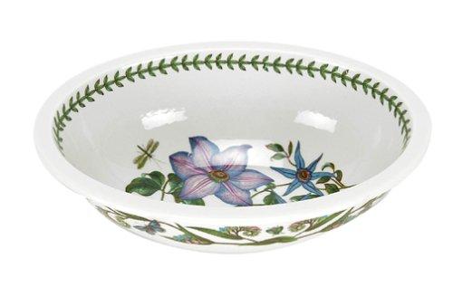 Portmeirion Botanic Garden Deep Oval Dish, Assorted Floral Motifs