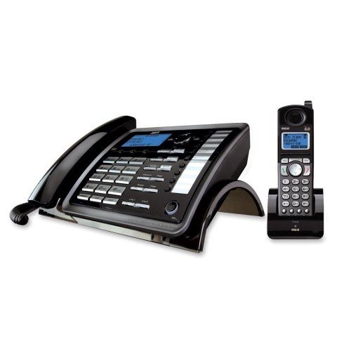 RCA 25255RE2 DECT Cordless Phone - Cordless - 2 x Phone Line - Caller ID - Backlight