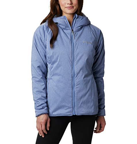 Columbia Women's Plus Size Kruser Ridge II Plush Softshell Jacket, Velvet Cove Heather, 2X