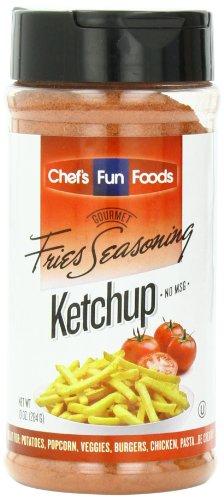 Gourmet Fries Seasonings Bottle, Ketchup, 10 Ounce