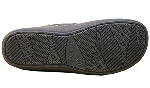 Tamarac by Slippers International Mens Prescott Slip-On Loafer Charcoal Grey TbPnjtB2