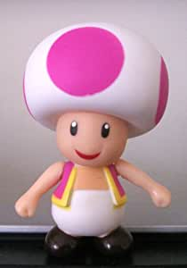 "3.5"" Super Mario Character Figure Collection ~PINK TOAD~"