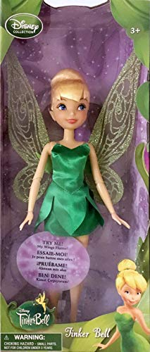 Tinker Bell Toys (Disney Collection Tinker Bell 10 Inch Doll (Wings Flutter) Fairy Fairies)