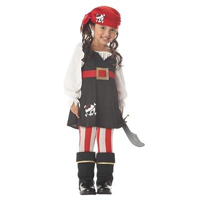 Precious Lil' Pirate Girl's Costume by California Costumes