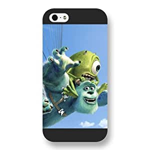 Customized Black Frosted Disney Cartoon Monsters University Case For Sam Sung Galaxy S4 Mini Cover