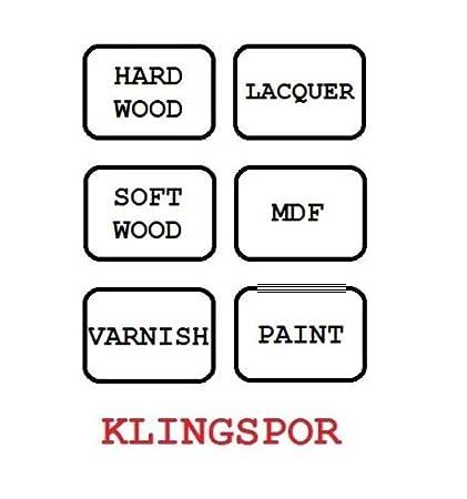 50, Grit 400 150mm Sanding Discs KLINGSPOR Sandpaper 17 Hole Pads Compatible with FESTOOL Sanders