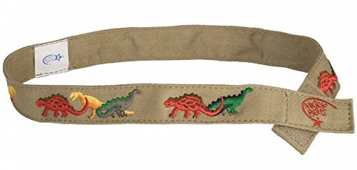 Boys Preppy Belts (Myself Belts - Toddler and Kids Belt for Boys - Dinosaur)
