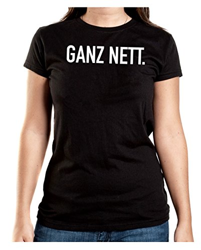 Ganz Nett T-Shirt Girls Black Certified Freak