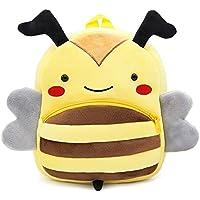 Panax Cute Toddler Backpack Toddler Bag Plush Animal Cartoon Mini Travel Bag for Baby Girl Boy 1-6 Year