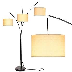 Amazon.com: Brightech Trilage - Lámpara de pie LED con base ...
