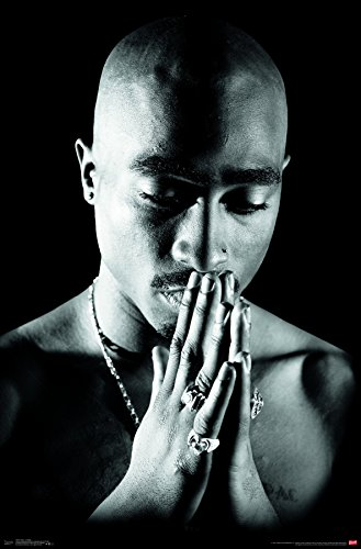 Trends International Wall Poster Tupac Praying, 22.375