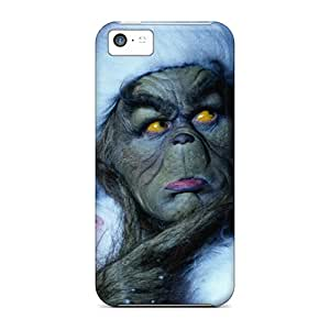 DustinFrench Iphone 5c Durable Hard Phone Cases Allow Personal Design Attractive The Grinch Series [zMq14376qggN]