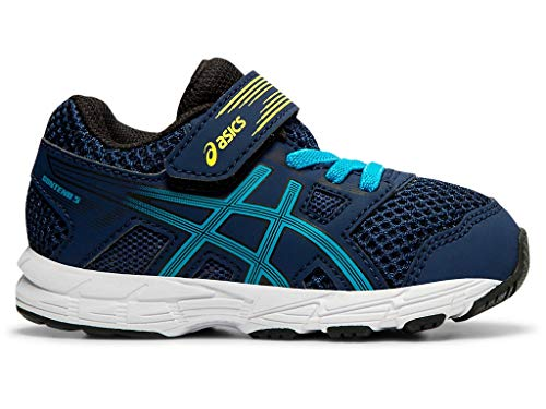 ASICS Kid's Contend 5 TS Running Shoes, K8, Blue Expanse/Island Blue