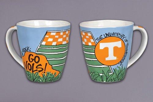 Collegiate Spirit Mug (Tennessee - Mug Coffee Tennessee Volunteers