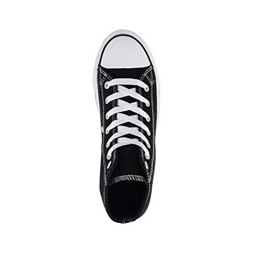 Nummer Top nbsp;Unisex Größer Elara Tejido High de nbsp;– Loisirs nbsp;Zapatos Eine Basic nbsp;– Aus Zapatos Fällt Sneakers Deporte Black de x1UU5qTwt