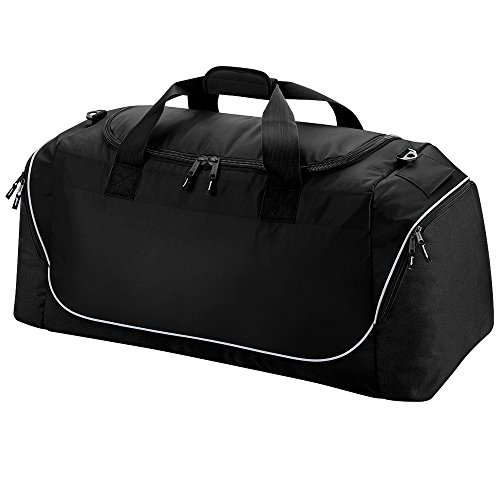 Quadra Team Wear Jumbo Kit Bag Negro - Black/ Light Grey