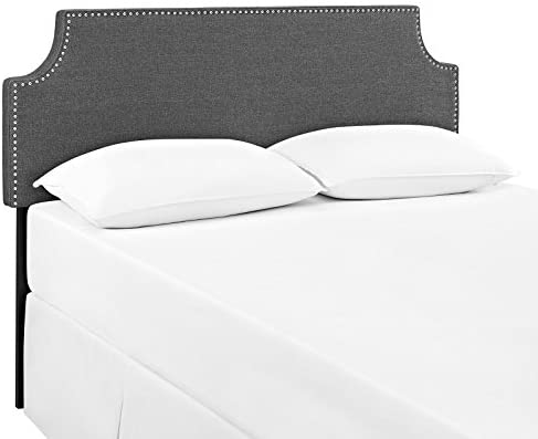 home, kitchen, furniture, bedroom furniture, beds, frames, bases, headboards, footboards,  headboards 4 discount Modway Laura Upholstered King Headboard Size with Cut in USA
