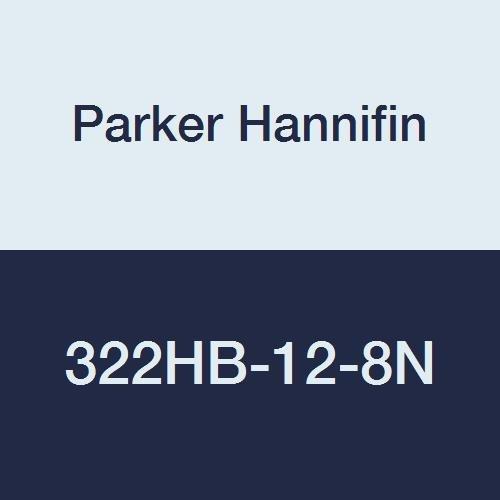 3//4 Hose Barb x 1//2 Hose Barb Parker Hannifin 322HB-12-8N-pk5 Par-Barb Union Connector Fitting Nylon White Pack of 5