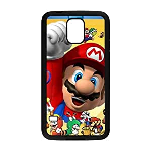 Super Mario Bros Samsung Galaxy S5 Cell Phone Case Black&Phone Accessory STC_225824